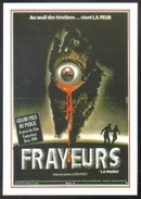 Carte Postale : Frayeurs (cinema Affiche Film) Illustration Michel Landi - Affiches Sur Carte