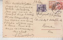 Storia Postale Francobollo Commemorativo Austria Osterreich 1935 Wien - Otros