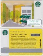 Starbucks - USA - 2012 - CN 6106 Starbucks Coffee - Gift Cards