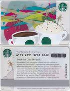 Starbucks - USA - 2013 - CN 6109 Celebration 2014 - Gift Cards