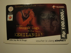 1 Remote Phonecard From Indonesia - Basket Ball - Indonesia
