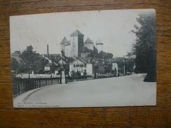 Carte Assez Rare De 1902 , Annecy , Le Château - Annecy