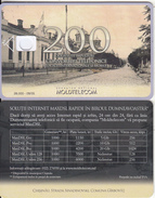 MOLDOVA - Strada Sinadinovski, Moldtelecom Telecard 200 Units, Tirage 26000, 09/05, Dummy Telecard(no Chip, No CN) - Moldova