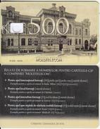 MOLDOVA - Gimnaziul De Fete, Moldtelecom Telecard 500 Units, Tirage 10000, 05/05, Dummy Telecard(no Chip, No CN) - Moldova