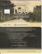 MOLDOVA - Aleia Principala, Moldtelecom Telecard 100 Units, Tirage 10090, 07/04, Dummy Telecard(no Chip, No CN) - Moldova