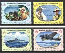 NOUVELLES HEBRIDES 1967 N° 261 à 264 * * Neufs Lot - 2214 - Militares