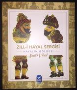KARAGOZ KARAGHIOZIS ZILL-I HAYAL SHADOW THEATER TURKISH COLORED COLORED CATALOG - Books, Magazines, Comics
