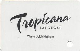 Tropicana Casino - Las Vegas, NV -  BLANK Slot Card - Casino Cards