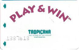 Tropicana Casino - Las Vegas, NV -  Slot Card - Casino Cards