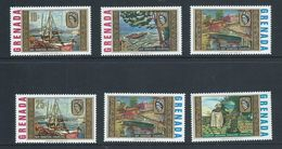 Grenada 1968 Churchill Paintings Set Of 6 MNH - Grenada (...-1974)