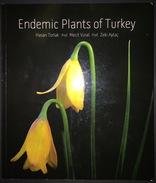 Endemic Plants Of Turkey Botanic Illustrated - Books, Magazines, Comics