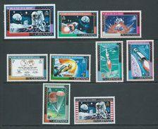 Grenada 1969 Apollo Moon Landing Space Set Of 9 MNH - Grenada (...-1974)