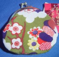 Small Japanese Purse - Vintage Clothes & Linen