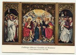 CHRISTIANITY - AK 309347 Freiburger Münster - Gemälde Am Hochaltar V. Hans Baldung-Grien - Tableaux, Vitraux Et Statues
