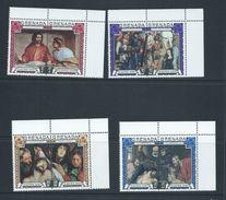 Grenada 1970 Easter Paintings Set Of 4 Pairs MNH - Grenada (...-1974)