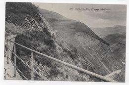 LA MURE - N° 490 - LIGNE FERROVIAIRE - PASSAGE DE LA RIVOIRE - CPA NON VOYAGEE - La Mure