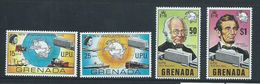 Grenada 1970 UPU Anniversary Set 4 MNH - Grenada (...-1974)
