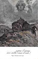 [DC9366] CPA - ASPRA L'ASCESA MA SULLA CIMA IL SOLE! - AGLI AUTOMOBILISTI - Non Viaggiata - Old Postcard - Pittura & Quadri