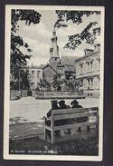 CPSM ALLEMAGNE - St. WENDEL - Durchblick Am Rathaus - TB PLAN Place CENTRE VILLE + ANIMATION Sur Le Banc - Allemagne