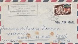 1er Vol Direct Saint-Pierre France 1959 - SPM Erstflug Inaugural Flight - St.Pierre Et Miquelon