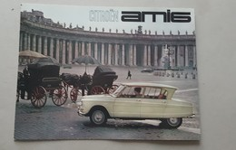Citroën Ami 6 1963 Depliant Brochure Originale Auto - Genuine Factory Car Brochure - Voitures