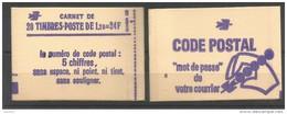 FR 2101-C1  Conf  8 **  (MNH) - Libretti