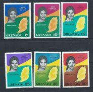 Grenada 1971 Miss World Set Of 6 MNH - Grenada (...-1974)