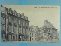 Liège Le Musée D'armes Et Le Mont De Piété - Liege