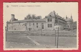 Trazegnies - Le Château Et L'Hostellerie Du Connétable  ( Voir Verso ) - Courcelles