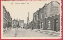 Trazegnies - Avenue De La Gare + Gare  ( Voir Verso ) - Courcelles