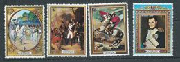 Grenada 1971 Napoleon Bonaparte Anniversary Set Of 4 MNH - Grenada (...-1974)