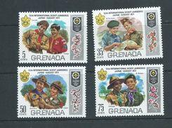 Grenada 1971 Boy Scout Jamboree Set Of 4 MNH - Grenada (...-1974)