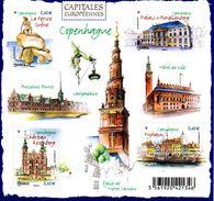 France.bloc No F4637 De 2012.capitales Européennes.copenhague.n**. - Sheetlets