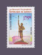 ¤NEW YEAR SALE¤ DJIBOUTI GUERRIER INCONNU UNKNOWN SOLDIER 2004 Michel Mi 795 MNH ** RARE - Djibouti (1977-...)