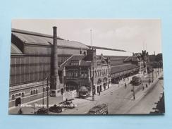 STATION Met Stationsplein ( HEMO ) Anno 19?? ( Zie Foto's ) !! - Haarlem
