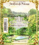 France. Bloc Jardins De France Salon Du Timbre No F4663 2012 N** - Blocs & Feuillets
