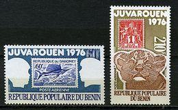 "Benin ** PA 254/255 - Expo Philatélique ""Juvarouen"" Prix 1,70 € + Port - Benin - Dahomey (1960-...)"