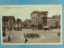 Liège L'Horloge En Fleurs - Liege