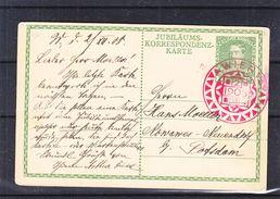 Autriche - Carte Postale De 1908 - Entier Postaux - Oblit Wien - Exp Vers Potsdam - Storia Postale