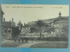 Liège Institut Royal Des Sourds-Muets Et Des Aveugles Coin Du Jardin - Liege