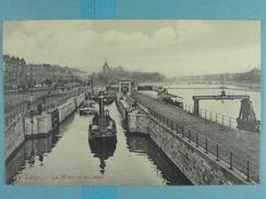Liège La Meuse Et Le Canal - Liege