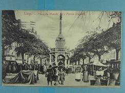 Liège Place Du Marché Le Perron Liégeois - Liege