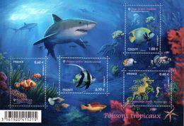France. Bloc F4646.poissons Tropicaux.2012 N** - Ongebruikt