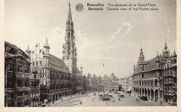 CPA BRUXELLES - VUE GENERALE DE LA GRAND'PLACE - Places, Squares