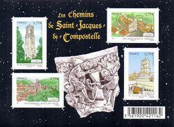 France. Bloc F4641.les Chemins De Saint Jacques De Compostelle.2012 N** - Sheetlets