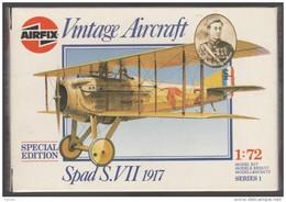 SPAD VII, Airfix1/72e - Vliegtuigen