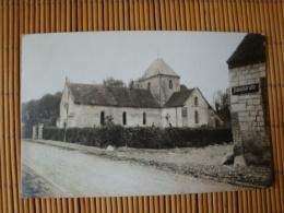 Fotokarte Reims, Hauptstrasse Mit Kirche, Ungelaufen - Reims