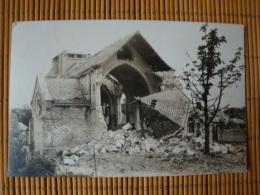 Fotokarte Reims, Mai 1917, Zerstörte Kirche St. ...., Ungelaufen - Reims
