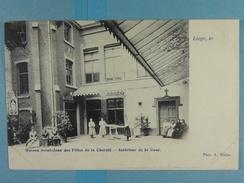 Liège Maison Saint-Jean Des Filles De La Charité Intérieur De La Cour - Liege