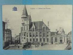 Liège L'Hôtel Des Postes (tram) - Liege